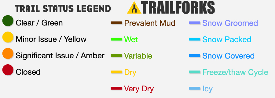 Trail Status Legend