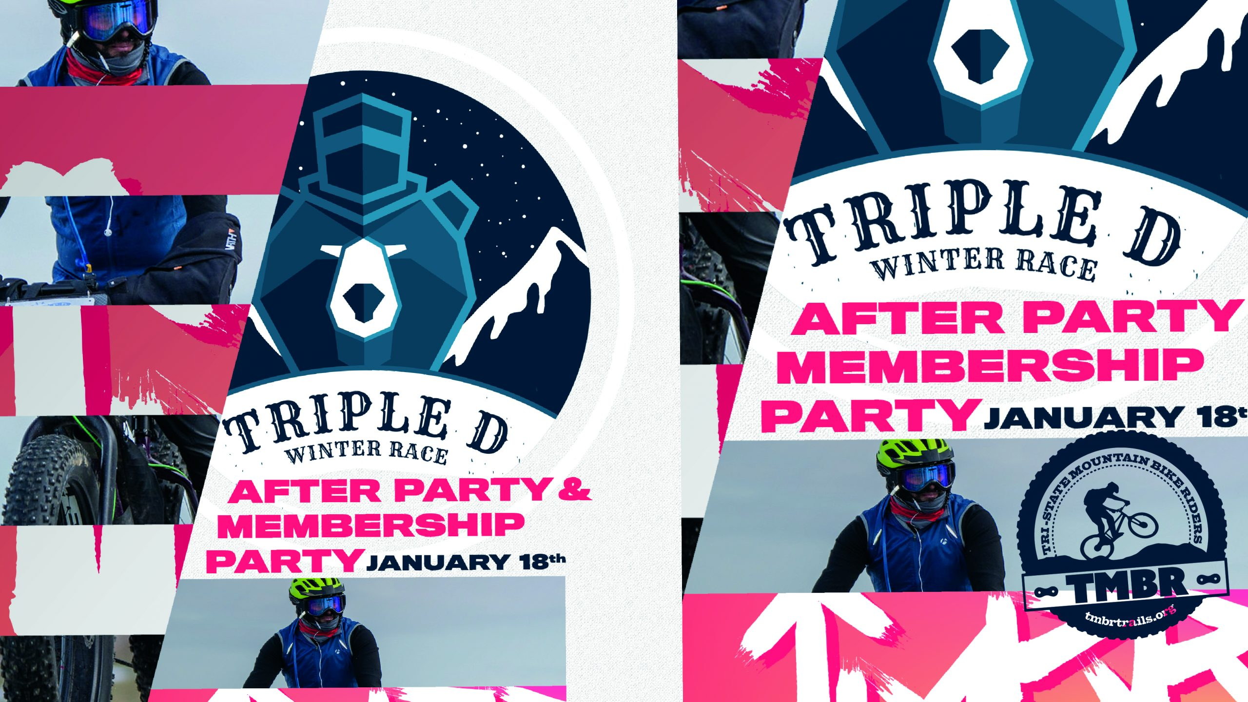 Triple D Award Ceremony & TMBR Membership Party / January 18th 2020