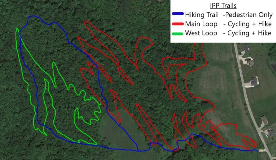 Interstate Power Preserve Trail Map